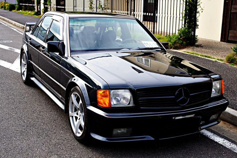 1990 190e 2 6 lotec turbo evo i super rare 280hp ebay for Mercedes benz 190e front bumper